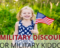 10 Military Discounts Your Military Kiddos Will Love