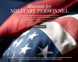 Pottery Barn, Pottery Barn Kids & Teens Military Discount Program