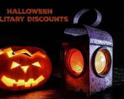 Top Military Discounts For Halloween From Costumes to Decor to Amusement Park Halloween Events
