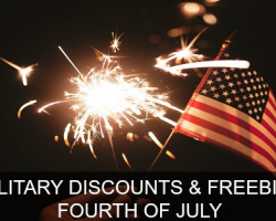 MilitaryBridge's Big List of Military Discounts & Freebies for Fourth of July 2019!