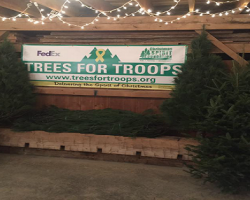 Just Announced....The 2019 Schedule & Locations For Free Christmas Trees From Trees For Troops!!