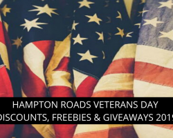 Top Veterans Day Discounts & Freebies in Hampton Roads, Virginia