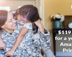 In Honor of Veterans Day, Amazon Announces Special Savings on Amazon Prime for Active Duty Military & Veterans for New & Existing Prime Member