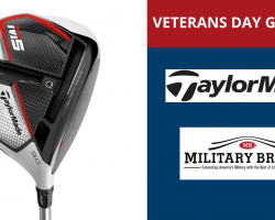 In Honor of Veterans Day, TaylorMade Golf & MilitaryBridge Partner to Giveaway a M5 Driver