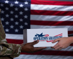 Join Veterans United Home Loans in their mission to help Operation Gratitude Ship 10,000 Care Packages to the troops!