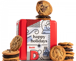 15% Military Discount at David's Cookies--Everyone loves cookies!  Why not get something special from David's Cookies for the holidays?
