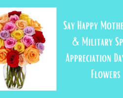 20% Military Discount on FTD Flowers for Mother's Day & Military Spouse Appreciation Day!
