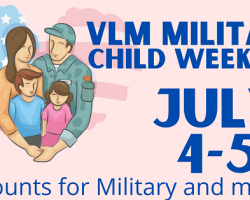 Virginia Living Museum Celebrates Military Children & their Families July 4-5, 2020 with Special Admission, Membership & Store Discounts!