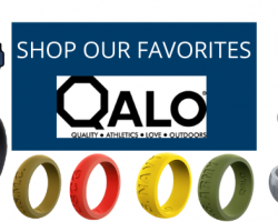 QALO, the leader in silicone rings, offers a 15% Military Discount