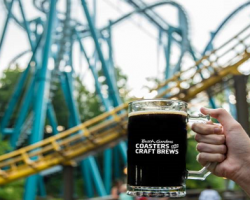 Busch Gardens Williamsburg reopens for a special Coasters and Craft Brews event in August with limited capacity.