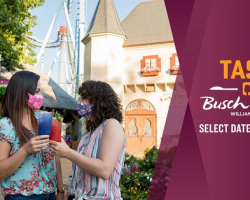 "Hampton Roads Military: Busch Gardens Williamsburg kicks off ""Taste of Busch Gardens"" with limited capacity & dates in September."