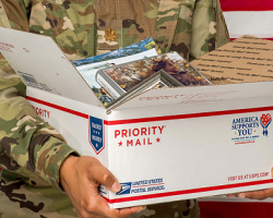 Just Announced....the 2020 USPS recommended holiday shipping dates are out with discounted shipping & free military care kit