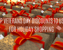 Veterans Day Deals & Military Discounts to SAVE on your Holiday Shopping