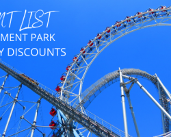 Giant List of Amusement Park Military Discounts in 2021