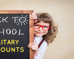 The Ultimate List of Back-To-School Military Discounts For Military Families