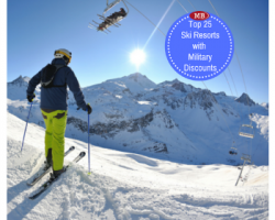 25 SKI RESORTS OFFERING MILITARY DISCOUNTS ON LIFT TICKETS, LODGING, DINING & MORE!