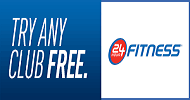 24 Hour Fitness-Military Discount-Free Pass